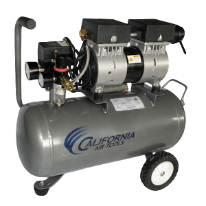 CAT quiet air compressor