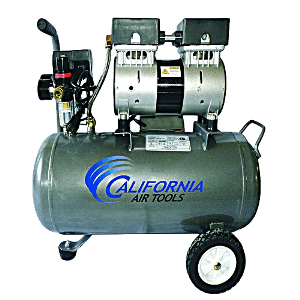 A quite air compressor