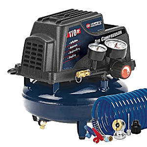 campbell hausfeld fp2028 1 gallon oil free pancake air compressor clipped rev 1