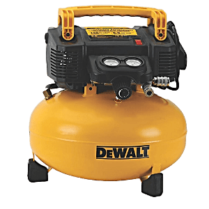 The DEWALT DWFP55126 6-Gallon, 165-PSI Pancake Compressor