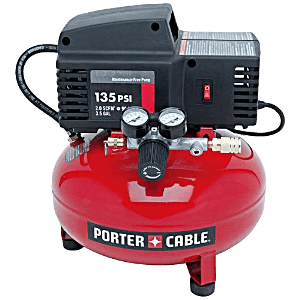 the porter cable pcfp02003 35 gallon 135 psi pancake compressor