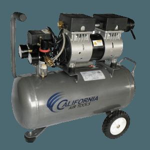 CAT quiet air compressor