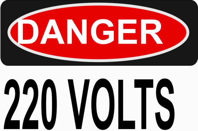 danger voltage sign