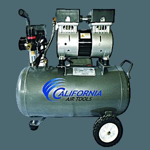 A quite air compressor